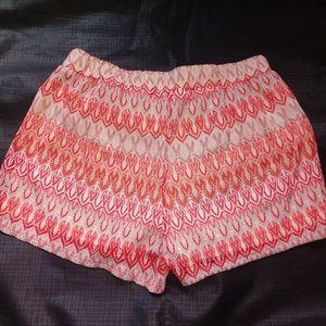 Coral Orange Soft Shorts